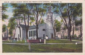 St John´s Church , RICHMOND , Virginia , PU-1935