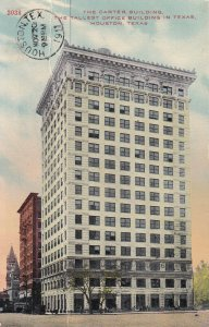 HOUSTON, Texas, PU-1914; The Carter Building, Tallest Office Building In Texas