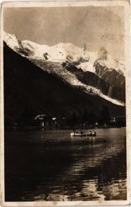 CPA Chamonix La Plage et le Mont Blanc (336730)