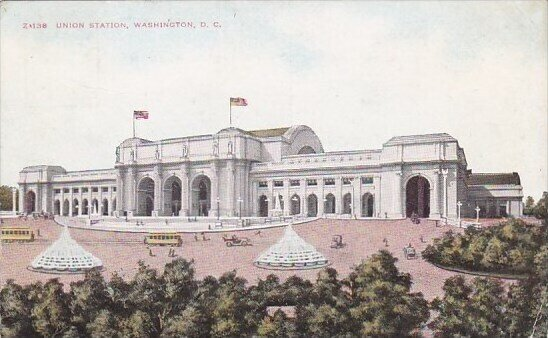 Union Station Washington D C 1911