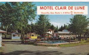 Clair de Lune Motel & Cabins , DEAUVILLE  , Canada , 50-60s
