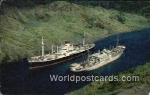 República de Panamá Culebra Cut Panama Canal