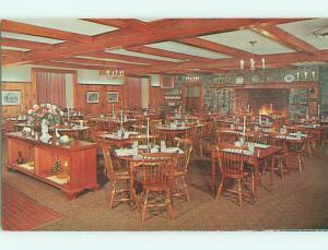 Unused Pre-1980 CONESTOGA MOTEL RESTAURANT Lancaster Pennsylvania PA u4613@