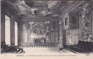France Rennes Le Palais de Justice Salle de l'ancien Parlement de Bretagne