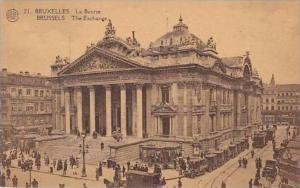 Belgium Bruxelles La Bourse The Exchange