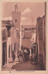 Tunisia Sousse Rue Souk-El Caid