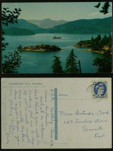 Howe Sound (looking across Bowen Island) Vancouver BC,