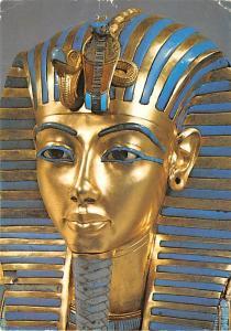 United Kingdom, Great Britain, England Treasures of Tutankhamun, Gold Mask  T...