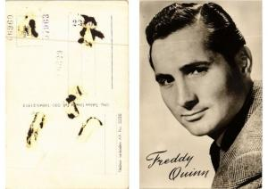 CPA AK Freddy Quinn FILM STAR (610291)