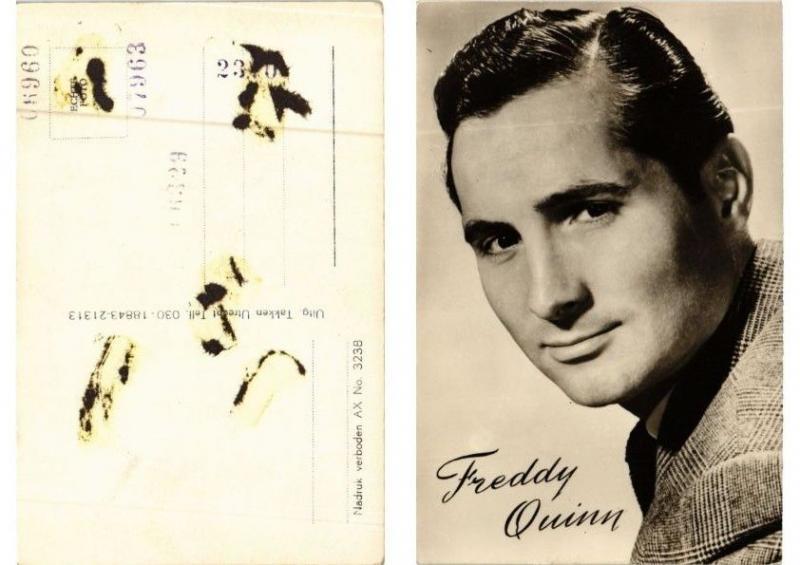 CPA AK Freddy Quinn FILM STAR (610291)