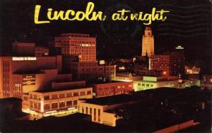 NE - Lincoln. Night View