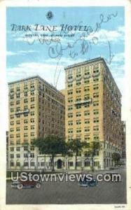 Park Lane Hotel Chicago IL Unused