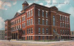 High School Camden New Jersey 1909
