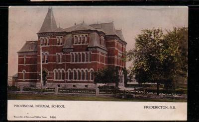 Colour PC Normal School Fredricton New Brunswick