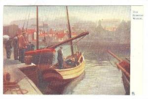 The Harbour Whitby, Sailing Vessels, 1900-1910s TUCK´S 1668