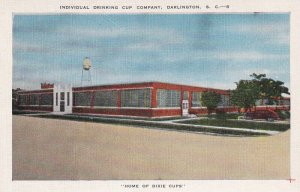 DARLINGTON, South Carolina, 30-40; Individual Drinking Cup Company, Dixie Cups