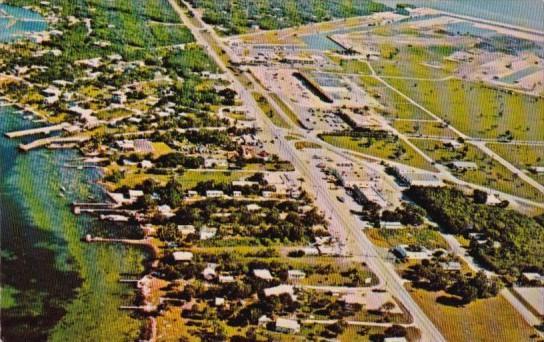Florida Key Largo Aerial View In The Florida Keys