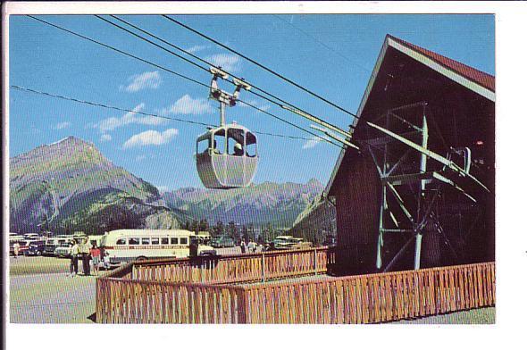 Lower Terminal, Sulphur Mountain Gondola Lift, Banff National Park, Alberta,