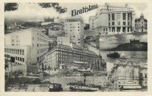 Slovakia Postcard Bratislava sites&sightseeing
