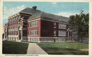 Ingalls New High School , Atchison , Kansas , PU-1920