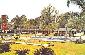 Ocala FL Jonquil Motel on So Dixie Highway Old Cars Postcard