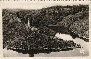CPA CROZANT Ensemble des Ruines (1143581)