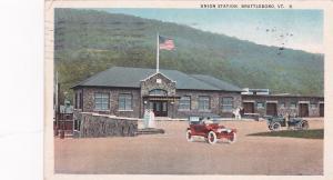 BRATTLEBORO, Vermont, PU-1923; Union Station