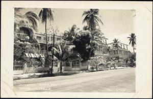 mexico, ACAPULCO, Hornos, Apartamentos Quinta Rosa RPPC