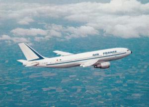 AIR FRANCE Airbus A 300 B2 B Jet Airplane , 70-80s