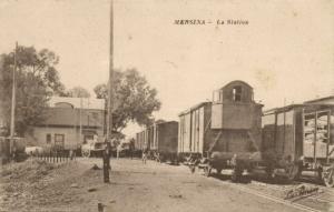 turkey, MERSIN MERSINA, Railway Station, Trains (1920)