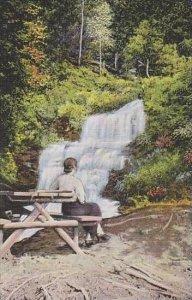 Michigan Alger County Alger Falls