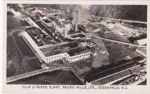 RP: Pulp & Paper Plant , Pacofoc Mills Ltd. , OCEAN FALLS , B.C. , Canada , 2...