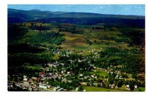 NY - Catskills, Livingston Manor Aerial View