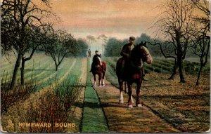 Horse Postcard - TUCK - PHOTOCHROME - OUR FARM -HOMEWARD BOUND PC