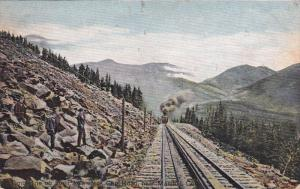 MANITOU, Colorado; Timberline on the Pike's Peak Cog Road, Train, 00-10s
