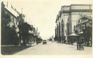 Auto Wicker Stroller California Exposition C-1915 RPPC Photo Postcard 3702