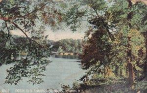 OSSINING, New York, PU-1907; Croton River Showing Long Bridge