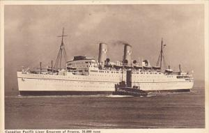 Canadian Pacific Liner Empress Of France