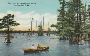TENNESSEE, 1900-10s; Out on Reelfoot Lake, Rowboat