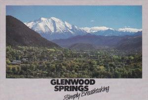 Colorado Glenwood Springs Panoramic View