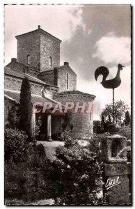Church of Germigny des Pres Postcard Old Facade meridionale and the lantern o...