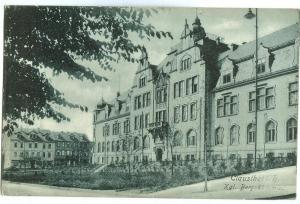 Germany Clausthal i.h Kgl. Bergakademie early 1900s Postcard
