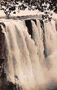 Zimbabwe Rhodesia, Victoria Falls, Main Falls from Cataract Island