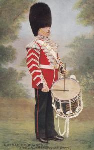 Grenadier Guards Side Drummer , Review Order , 00-10s ; TUCK