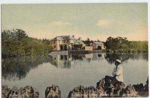 WALSINGHAM Poet Moore's House BERMUDA Postcard United Kingdom
