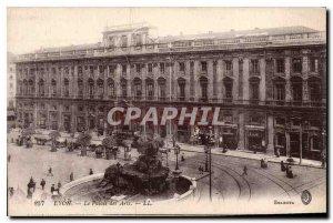 Postcard Old Lyon Palace of Arts