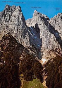 Naturschutzgebiet Wilder Kaiser Tirol Berg, Fleischbank Totenkirchl Predigtstuhl
