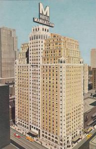 Exterior,  Hotel Manhattan, 44th to 45th Streets at 8th Avenue,  New York Cit...