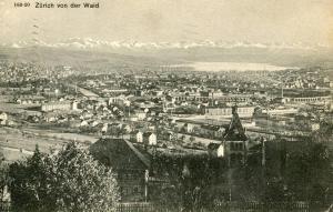 Switzerland - Zurich. From the Waid