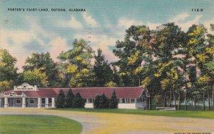 Alabama Dothan Porter's Fairy Land 1945 sk7321